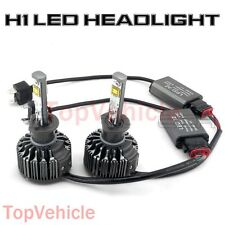 H1 6000K Pure White Lamp Bulbs Car 60W 7600LM CREE LED Conversion Headlight KIT