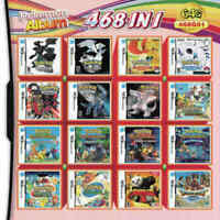 NDS 468 in 1 Game Card Cartridge For Nintendo NDS 2DS 3DS NDSI NDSL Gift US SHIP