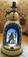 Jim Shore Christmas Snowman Musical Lighted 4012676