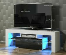 LED TV Stand Cabinet Unit 1 Drawer Gloss Matte bedroom living room home furnit