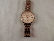 Fossil Jacqueline Rose Gold women's watch ES3435 watch 6""