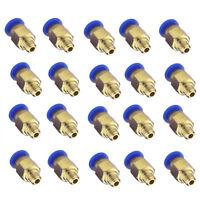 20 Stück Push Fitting PC4-M6 Remote Extruder Verbinder 4mm Schlauch Einstecken