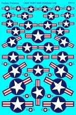 USAF Envío Guerra Avión Insignia (1/48 Adhesivos, Fantasy Printshop 711)