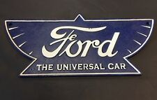 Ford Señal Garaje En Hierro Fundido El Universal Coche