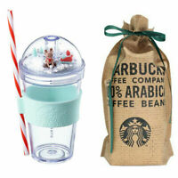 Starbucks Korea Christmas Limited Edition Rudolph Figure Cold cup Tumbler 473ml