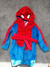 Boys Spider-Man dressing gown age 4-5 years