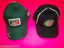 DALE EARNHARDT JR # 88 MOUNTAIN DEW / AMP ENERGY NASCAR WINNER CIRCLE HAT 2 PACK