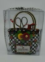 Mary Engelbreit Collectible Pincushion Checkers Polka dots New Old Stock