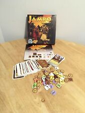 Rare Board Game Jambo Rudiger Dirn Edn Afrikaans Avontuur Voor Twee Spelers 100%