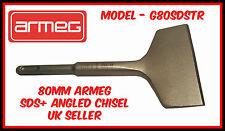 Nuevo Armeg SDS Plus Cincel 80mm caja eléctrica removedor de Azulejo en ángulo Render SDS + Reino Unido
