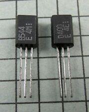 2SB544 / B544 & 2SD400 / D400 : TO92L : 2 pair per Lot