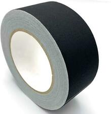 Gaffer Black Gaff Tape 2 Inch X 30 Yards No Residue Strong Adhesive Waterproof