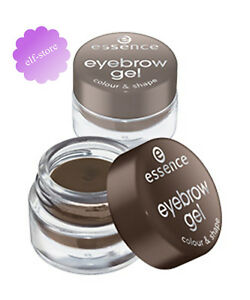 Essence Eyebrow Gel Colour & Shape Eyebrow Pomade Brow Liner Tint 01 Brown