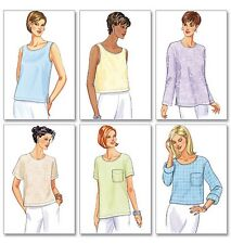 From UK Sewing Pattern Sleeveless Top Sewing Bee  20 - 24 #5948