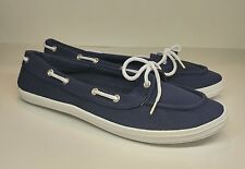 New Boat Casual Comfort Beach Shoes Blue/White Womens 9 Mens 7/7.5