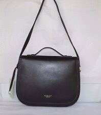 Radley 'Hamilton' Black Leather Shoulder Bag BNWT RRP £189 New!