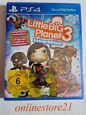 LittleBigPlanet 3 Extras Edition PlayStation 4 NEU PS4