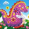 Cute Baby Kids Developmental 3D Crystal Mosaics Art Sticker Craft Kit Toy Gift