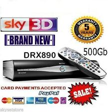 Sky hd boîte plus + hd box - 500GB-sky amstrad DRX890 brand new
