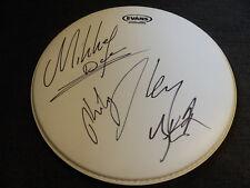 MOTÖRHEAD Lemmy Kilmister signed Autogramm auf Drumhead Schlagzeugfell SELTEN