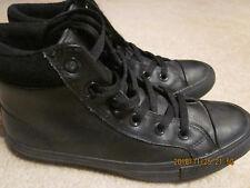 a450371e9ee converse chuck talylor all star waterproof leather high top boot shoe black  5 37