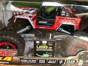 New Bright RC 4x4 1:15 Scale Radio Control Bronco Rock Crawler 2.4GHz w/ USB