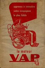 Catalogue MOTEUR VAP 4 auxilliaire velo velomoteur