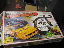1992 Tyco Stock Car 500 Racing Set With 2 Original Cars Ho Scale in Box Pennzoil