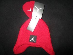 Nike Air Jordan 2 Pc Cap/Glove Set Size 12/24M (6A1952 R78)