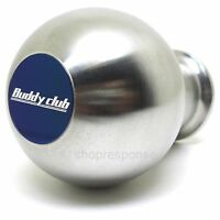 Buddy Club Silver Stainless Steel Weighted Shift Knob Fits Honda Acura M10xP1.50