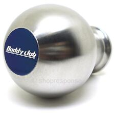 Buddy Club Weighted Shift Knob Silver Stainless Steel Fits Honda Acura M10xP1.50