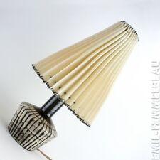 WGP KERAMIK LAMPE TISCHLAMPE POTTERY LAMP BASE STUDIO 50s 60s MID CENTURY