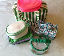 Yves Rocher '90s Makeup/Cosmetic Bags 6 Piece Lot ~ New