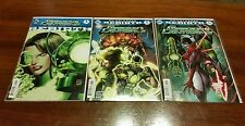 Green Lanterns Rebirth 3 comic lot *FIRST PRINT