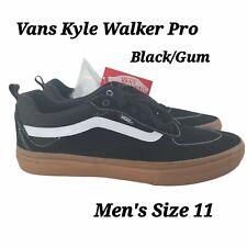 Vans Kyle Walker Pro Black/Gum Sneaker Shoes Men's Size 11 NEW VN0A2XSGB9M