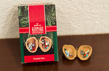 1990 NUTSHELL CHAT LOCKET HALLMARK CHRISTMAS ORNAMENT MIB