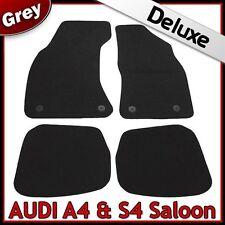 AUDI A4 Saloon B5 1995-2001 1300g di lusso su misura tappetini auto moquette grigio