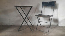 Vintage French Bistro Set French Bistro Chair Garden Chair French Bistro Table