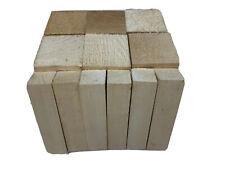 12 Pack,   Basswood Carving Blocks Soft Solid Wooden Whittling Kit for Whittler