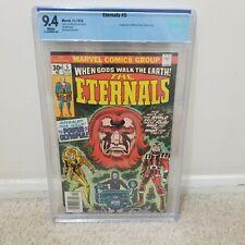 Eternals #5 CBCS 9.4 Not CGC Marvel Movie a lot of first appearances MCU Disney