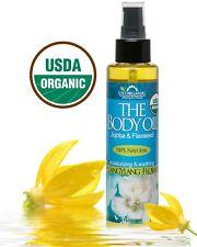 NEW!  USDA Certified Organic Body & Bath Oil - YlangYlang Flower, 5 oz. BOJY051