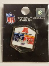 Tennessee Titans VS Kansas City Chiefs 1/19/20 GAME DAY PIN AFC CHAMPIONSHIP PIN
