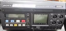 Sony HDW-250 HD with cables  no ac adapter no remote control