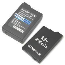 """For Sony PSP 2000 / 3000 """"Slim"""" Range Replacement Battery 3.6V 3600mAh"""