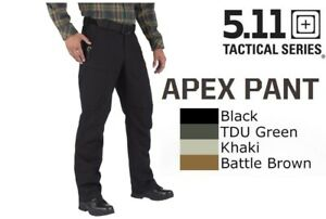 5.11 Tactical Apex Pant Cargo Reinforced Stretch Comfort Fit Free UK P&P - 74434