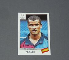 51 RIVALDO BRASIL BRESIL BARCELONA PANINI FOOTBALL CHAMPIONS LEAGUE 1999-2000