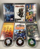 Lot Of 9 Sony PSP Games : Final Fantasy Gangs Of London Chessmaster Silent Hill