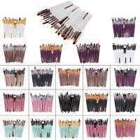 20 Pcs Professional Make Up Brush Set Foundation Kabuki Cosmetic Makeup Brushes