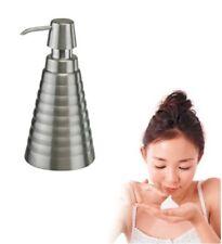 Pompe Savon Lavage à la main Distributeur Support Salle de Bain Toilettes Cuisine en Acier Inoxydable 528