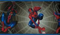 Marvel BZ9109B Spiderman Web Comic Wallpaper Border Free Shipping